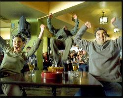 Bar acrobatics