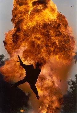 Explosion acrobatics