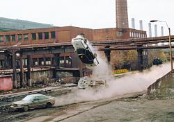 Action car stunts
